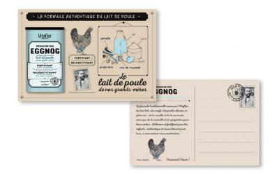 Création d'une carte postale